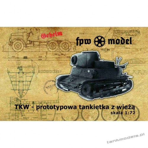 TKW wz.25 Hotchkiss (conv. for TK-3 from FTF) - FPW Model 72015