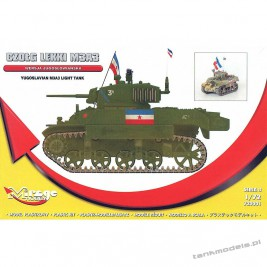 M3A3 Stuart Armia Jugosłowiańska - Mirage Hobby 720001