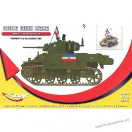 M3A3 Stuart Yugoslavian Narodna Army (TITO) - Mirage Hobby 720001