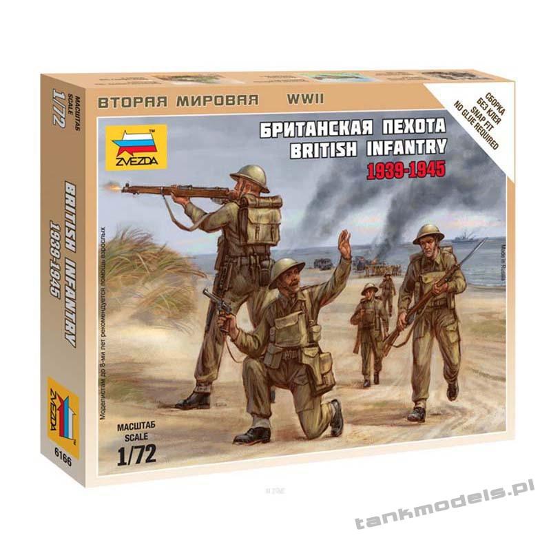 British Infantry 1939-1945 - Zvezda 6166