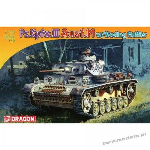 Panzer III Ausf. M w/Wading Muffler - Dragon 7290