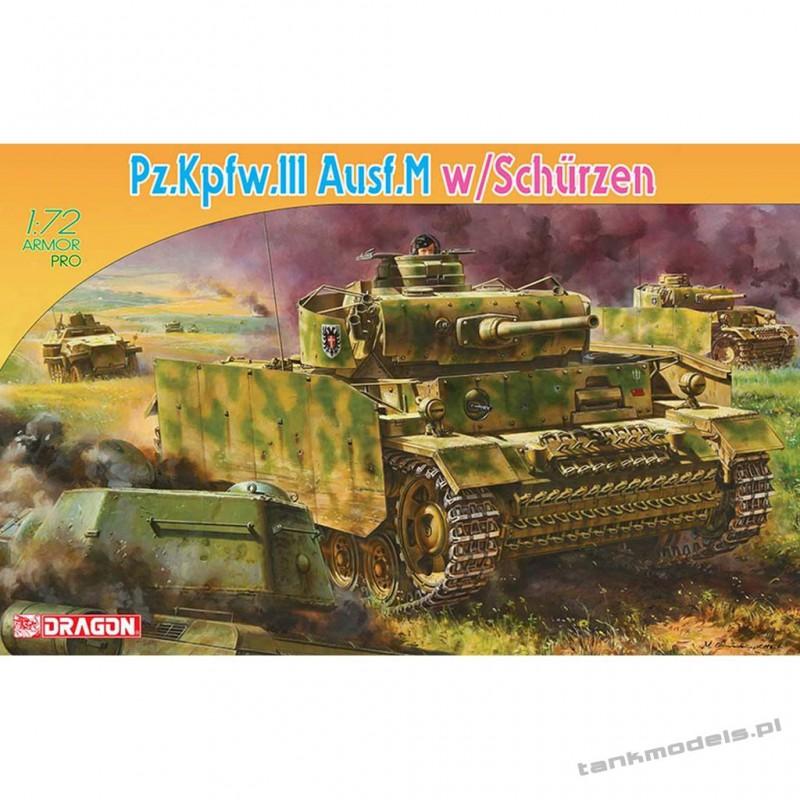 Panzer III Ausf. M w/Schurzen - Dragon 7323