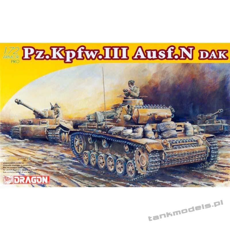 Panzer III Ausf. N Afrika Korps (DAK) - Dragon 7386