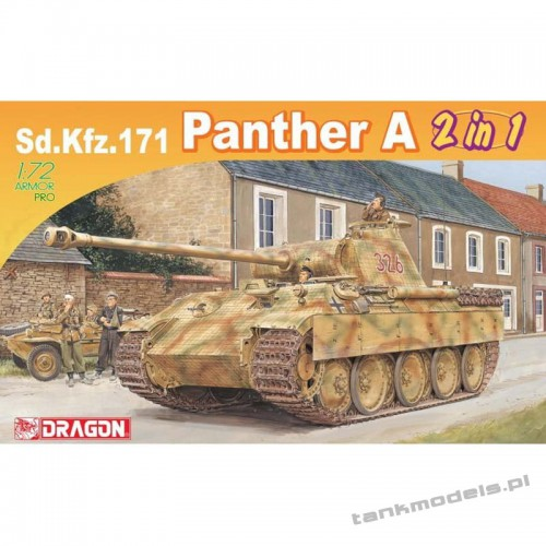 Panzer V Panther Ausf. A (2 in 1) - Dragon 7546
