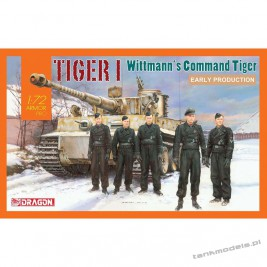 "Tiger I Early Production ""Wittmann's Command"" - Dragon 7575"