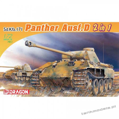 Panzer V Panther Ausf. D (2 in 1) - Dragon 7547