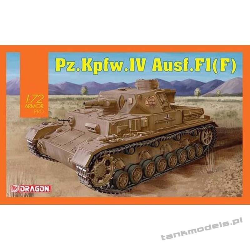 Panzer IV Ausf. F1 (F) Afrika Korps (DAK) - Dragon 7560