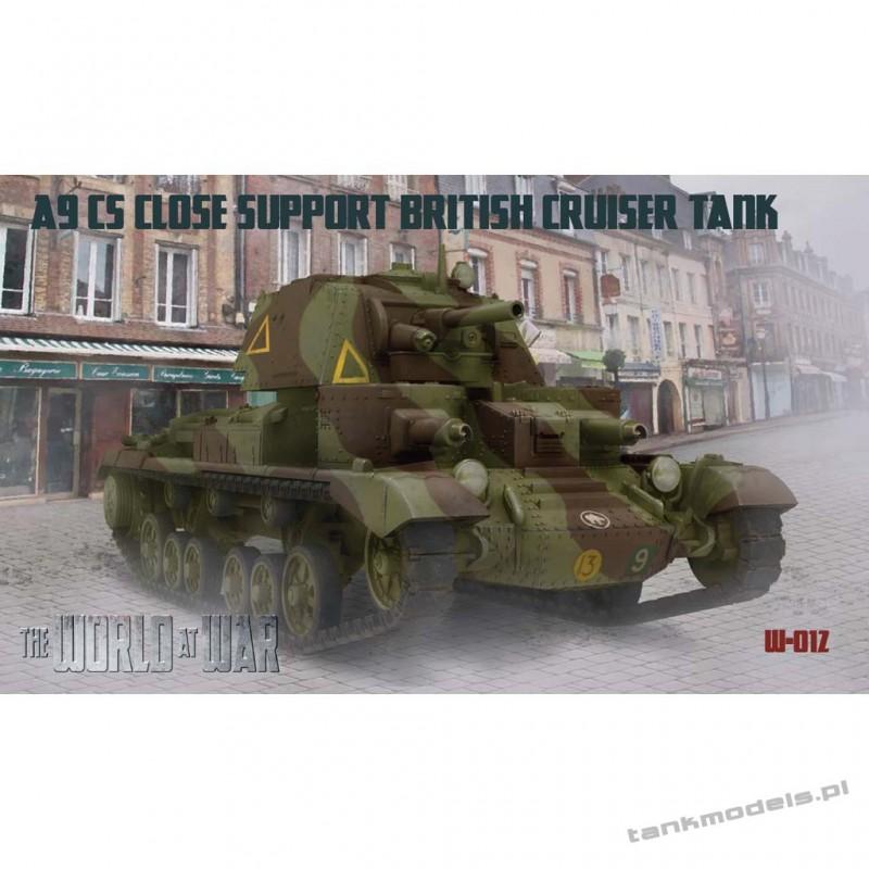 A9 CS (Close Support) British Cruiser Tank - World At War 012