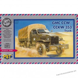 GMC CCKW 353 6x6 cargo truck with winch - PST 72044