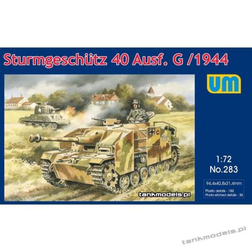 StuG 40 Ausf.G late - Unimodels 283