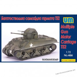 Multiple Gun Motor Carriage T52 - Unimodels 466