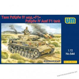 Panzer IV Ausf. F1 Afrika Korps (DAK) - Unimodels 544