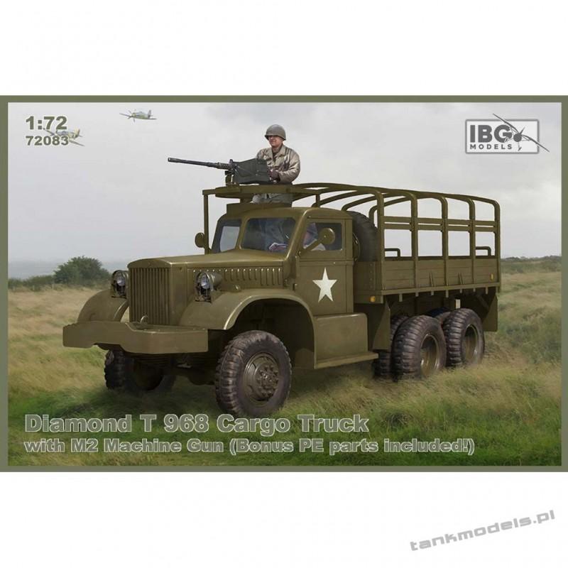 Diamond T 968 Cargo Truck with M2 Machine Gun - IBG 72083