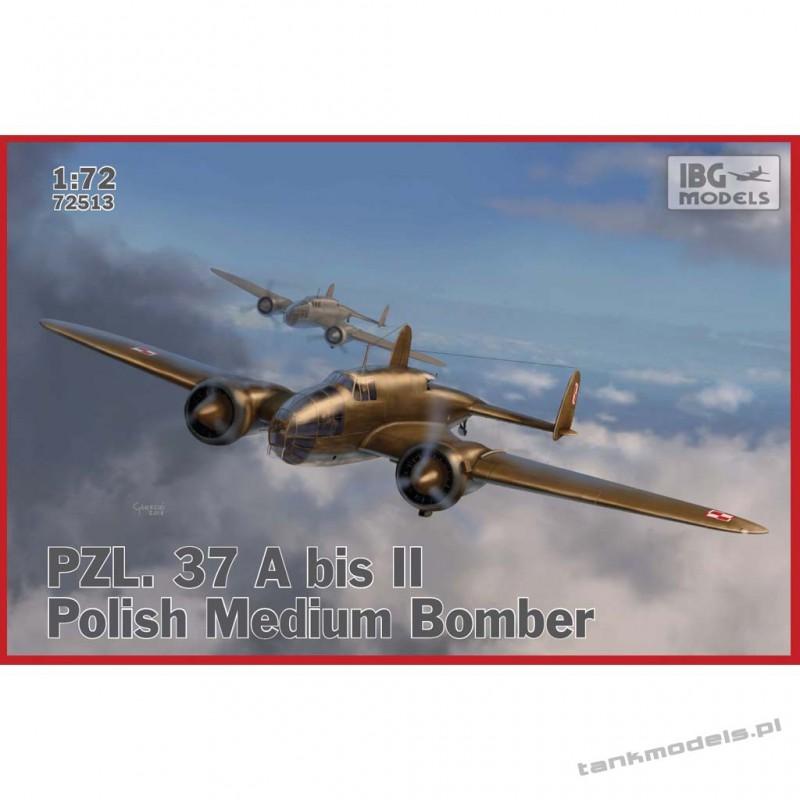 PZL 37 A bis II Łoś Polish Medium Bomber - IBG 72513