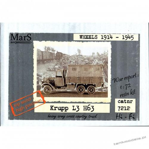 Krupp L3 H67 German cargo truck - Mars 7212