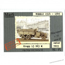 Krupp L3 H67 M German cargo truck - Mars 7215