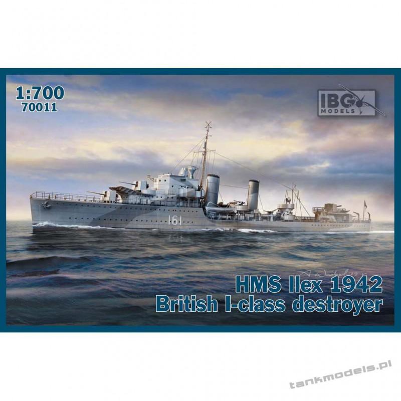 HMS Ilex 1942 British I-class destroyer - IBG 70011