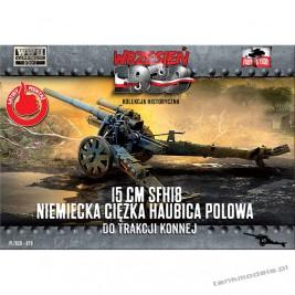 15 cm sFH18 Niemiecka ciężka haubica polowa - First To Fight PL1939-79
