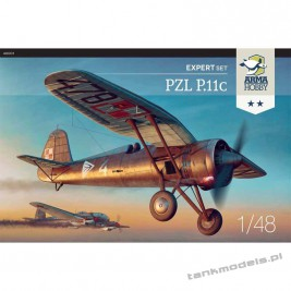 PZL P.11c (expert set) - Arma Hobby 40001