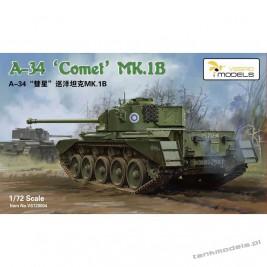 A-34 Comet Mk. IB British Cruiser Tank - Vespid Models 720005