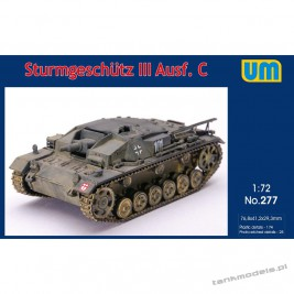 Sturmgeschutz III Ausf. D - Unimodels 277
