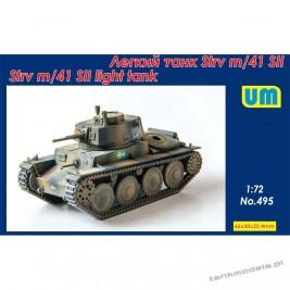 Strv m/41 SII Shwedish tank - Unimodels 495