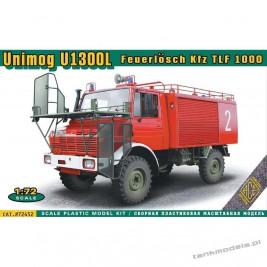 Unimog U 1300L Feuerlösch Kfz TLF 1000 - ACE 72452