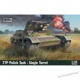 7TP Polish Tank Single Command turrer - IBG 35069