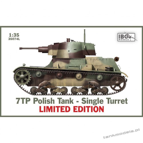 7TP Polish Tank Single Command turrer (limited edytion) - IBG 35074L