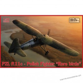 "PZL P.11c Polish Fighter - ""Rare Birds"" - IBG 32004"