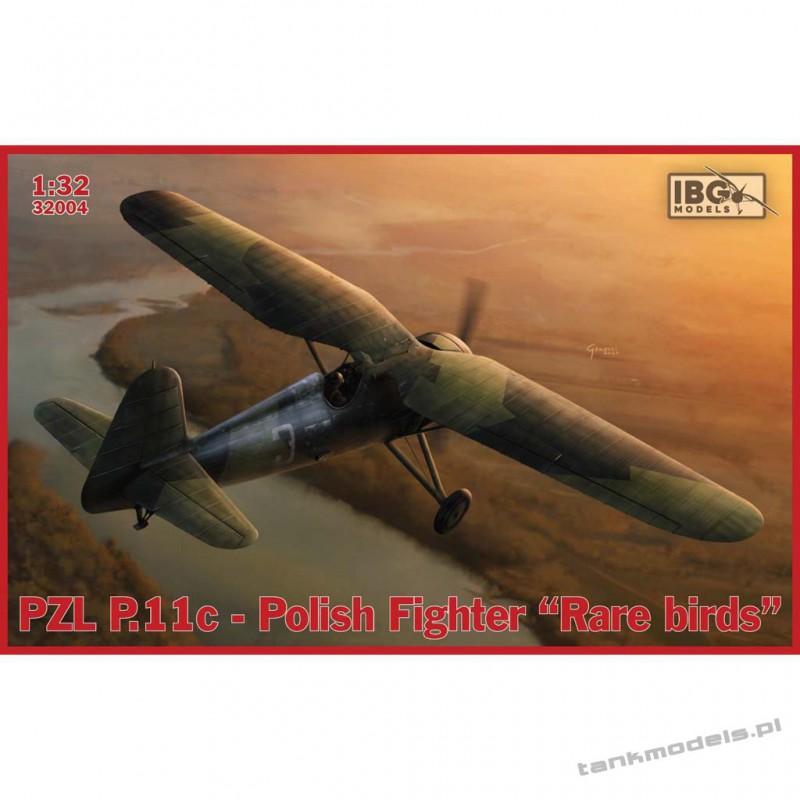 "PZL P.11c Polish Fighter - ""Rare Birds"" - IBG 32004"