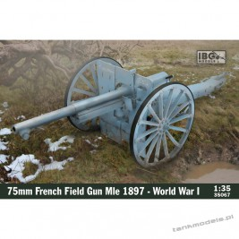 Schneider 75mm French Field Gun Mle 1897 (WWI) - IBG 35067