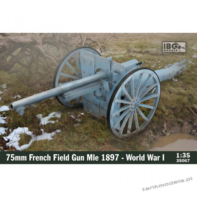 Schneider 75mm French Field Gun Mle 1897 (WWI) - IBG 35067