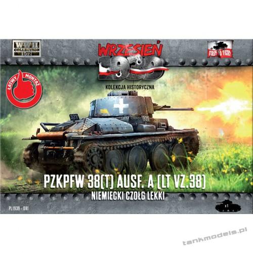 Panzer 38 Ausf. A / LT vz. 38 - First To Fight PL1939-81