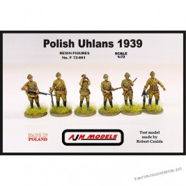 Polish Uhlans 1939 (6 pcs.) - AJM Models 72001
