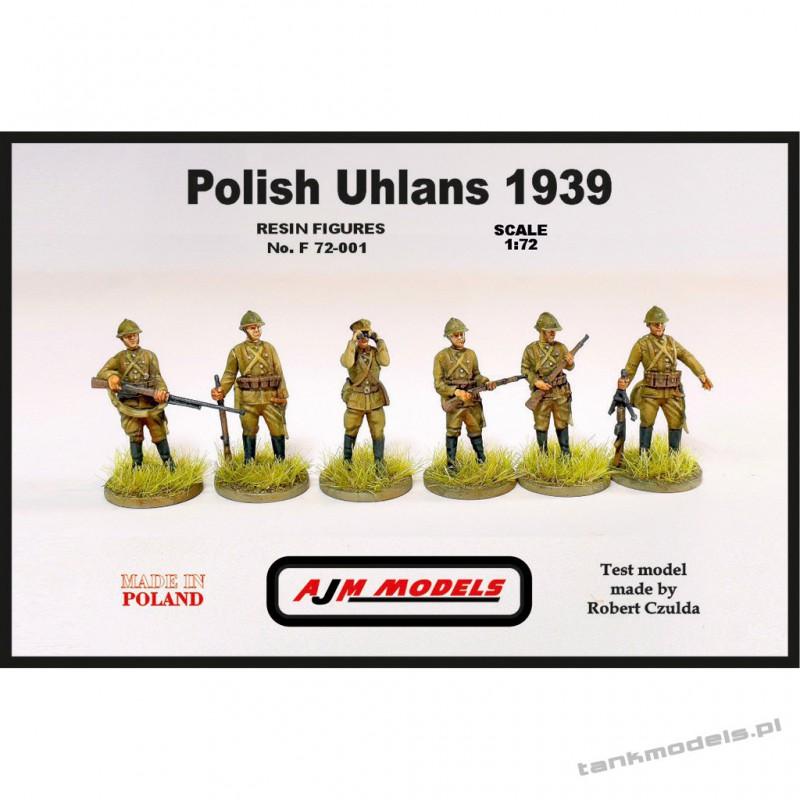 Polish Uhlans 1939 (6 pcs.) - AJM Models 72001