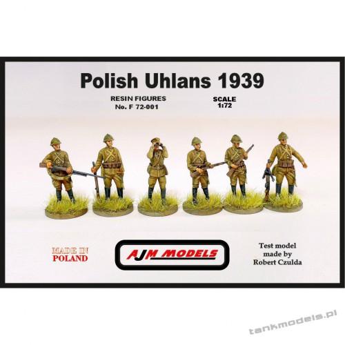 Polish Uhlans 1939 (6 pcs.) - AJM Models F72001