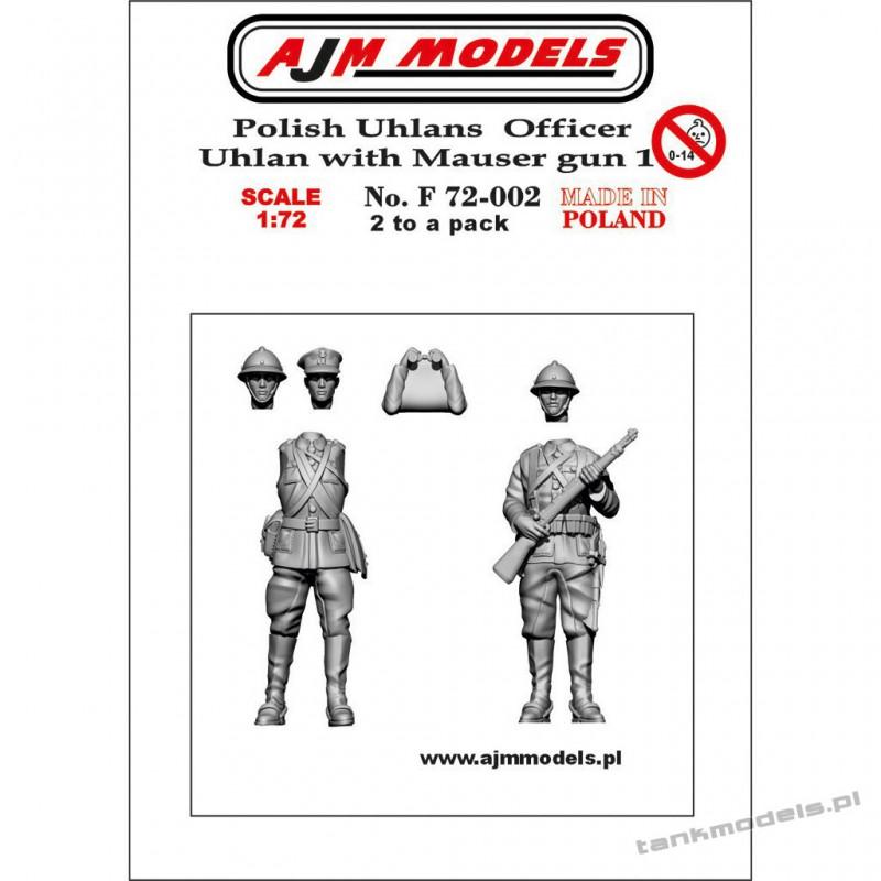 Polish Uhlans 1939 set. 1 (2 pcs.) - AJM Models F72002