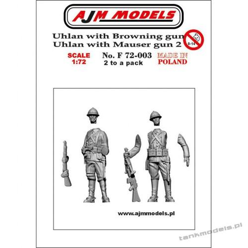 Polish Uhlans 1939 set. 2 (2 pcs.) - AJM Models F72003
