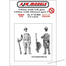 Polish Uhlans 1939 set. 3 (2 pcs.) - AJM Models F72004