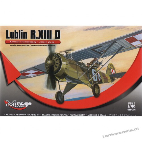 Lublin R.XIII D (reconnaissance plane) - Mirage Hobby 485001