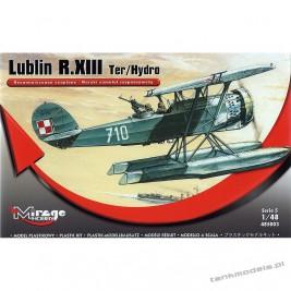 Lublin R.XIII Ter / Hydro (Morski samolot rozpoznawczy) - Mirage Hobby 485003
