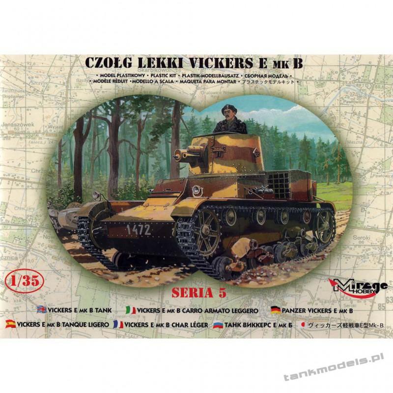 Polish Vickers E Mk. B 10th Cavalry Brigade - Mirage Hobby 35304