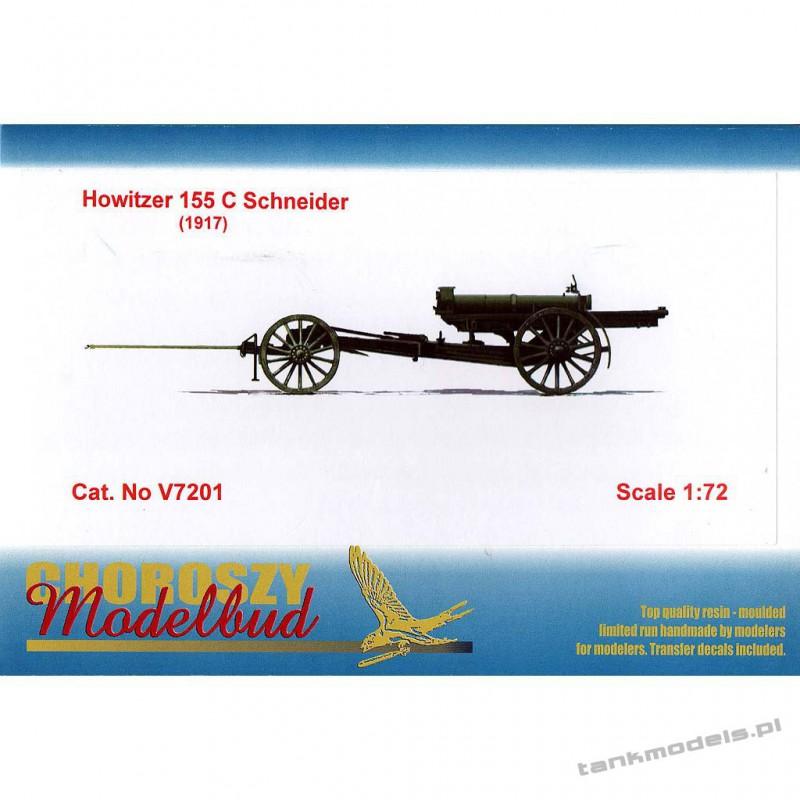 Howitzer 155 C Schneider (1917) - Choroszy Modelbuc V7201