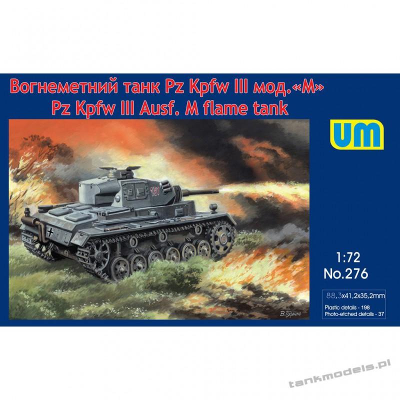 Panzer III Ausf. M flame tank - Unimodels 276