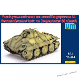Reconnaissance tank on Bergepanzerwagen 38 chassis - Unimodels 484