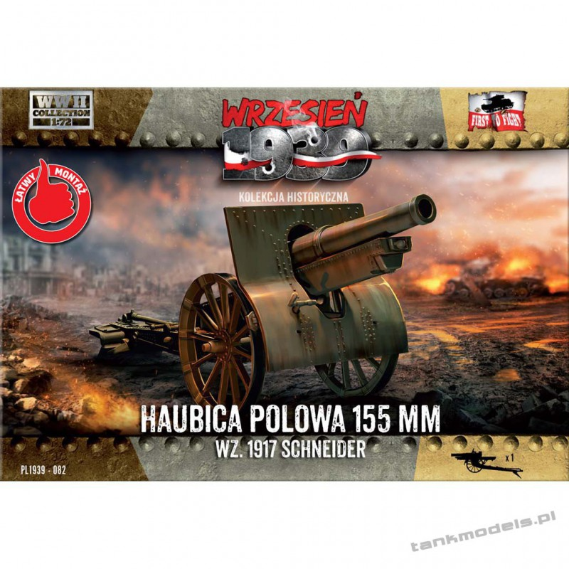 155 mm wz.1917 Schneider Polish field howitzer - First To Fight PL1939-82