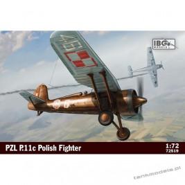 PZL P.11c Polish Fighter Plane - IBG 72519