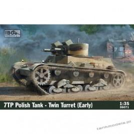 7TP Polish Tank -Twin Turret (Early Production) - IBG 35071