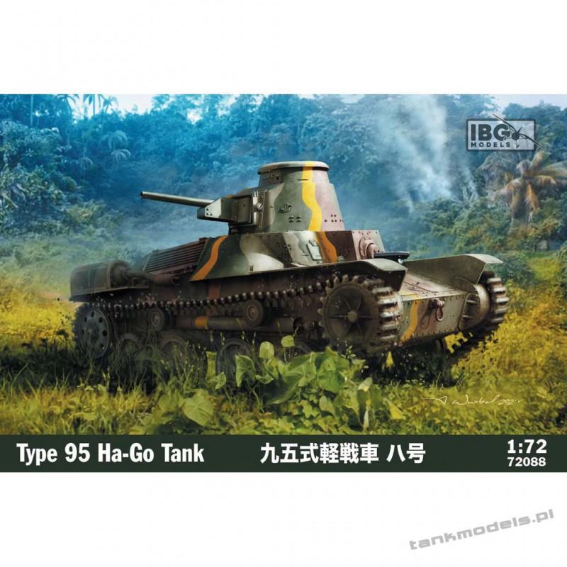 Type 95 Ha-Go Japanese Light Tank - IBG 72088